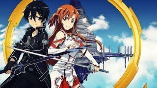 ТОП 5 аниме ПОХОЖИЕ НА SAO - Sword Art Online