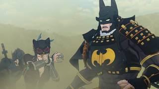 Бэтмен-ниндзя - Русский трейлер (Аниме, 2018)