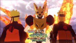 НАРУТО ПРОТИВ МЕХА-НАРУТО (РЕЖИМ КЬЮБИ) | Naruto Ultimate Ninja Storm Revolution