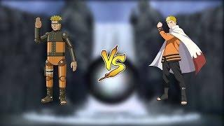 МЕХА НАРУТО ПРОТИВ НАРУТО ХОКАГЕ | Naruto Shippuden: Ultimate Ninja Storm 4 Путь Боруто