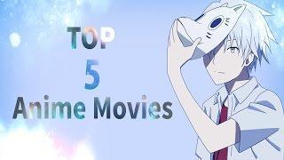 Топ 5 полнометражных аниме/ Top 5 anime movies